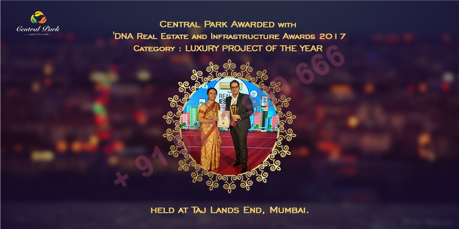 Central Park Awarded 'Luxury Project of The Year'