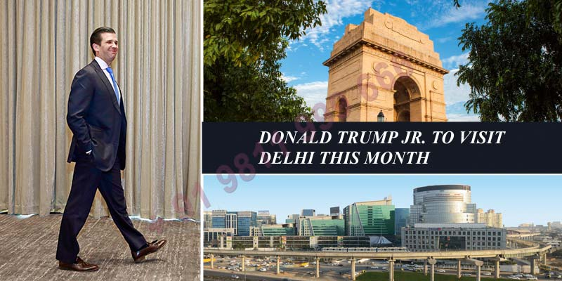 Donald Trump Jr. to Visit Delhi this Week