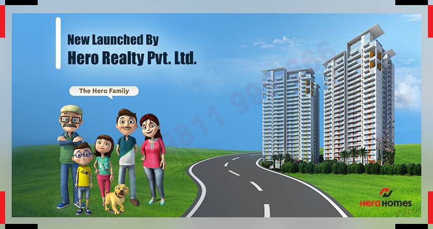 Hero Homes Gurgaon - New Launched by Hero Realty Private Limited!
