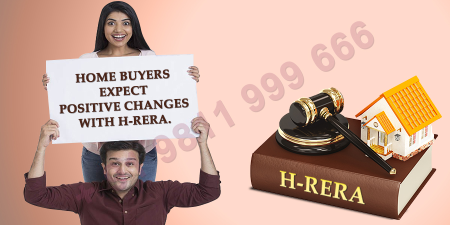 Home Buyers Expect Positive Changes With H-RERA