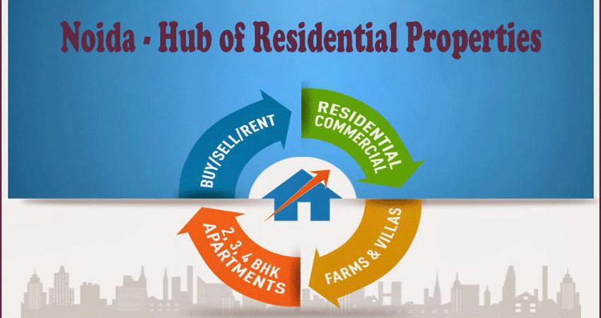 Noida - Hub of Residential Properties