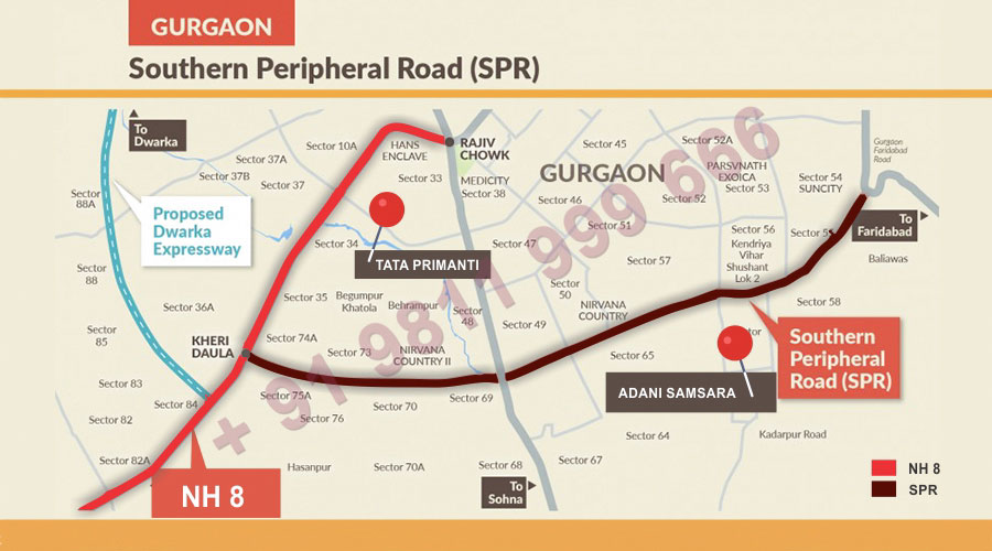 New Routes to Link SPR With NH8