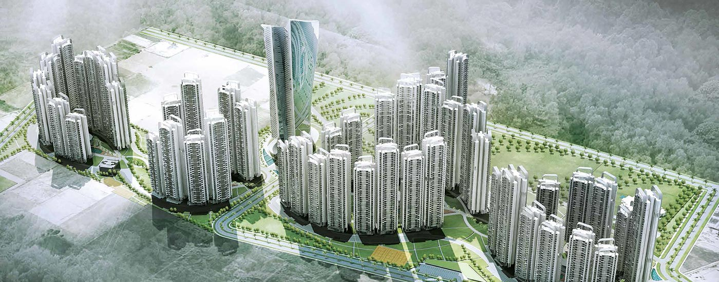 Supertech Hill Town Plots Sohna