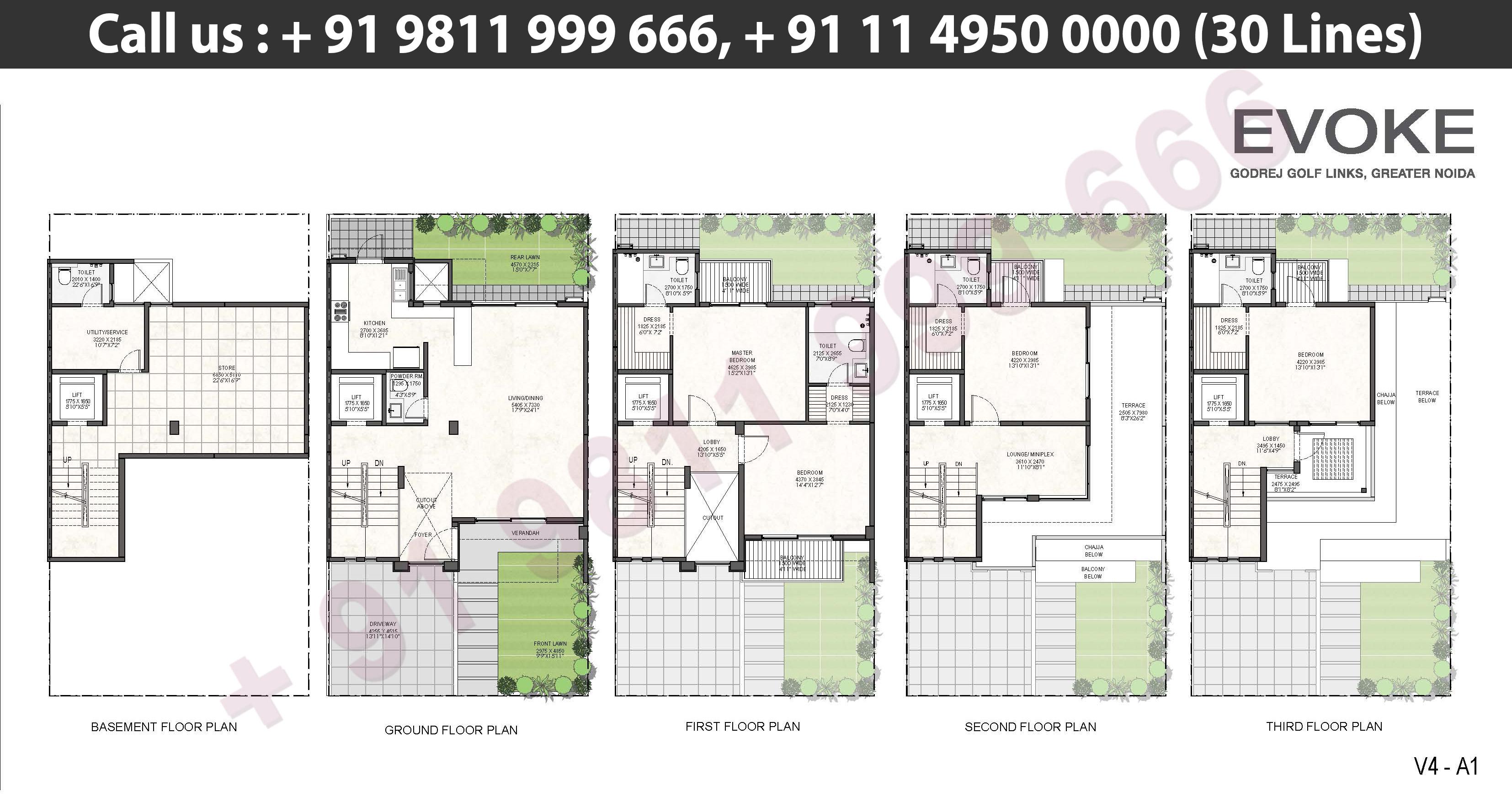 V4 - A1 Floor Plan