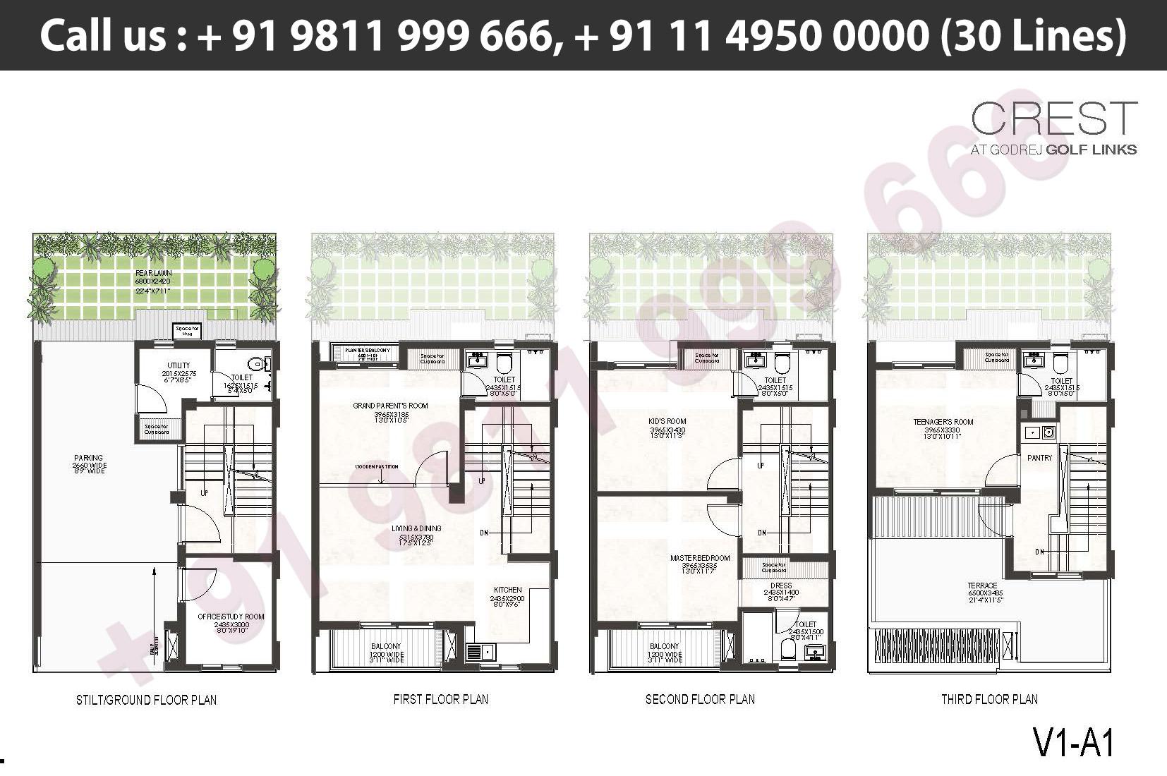 V1 - A1 Floor Plan