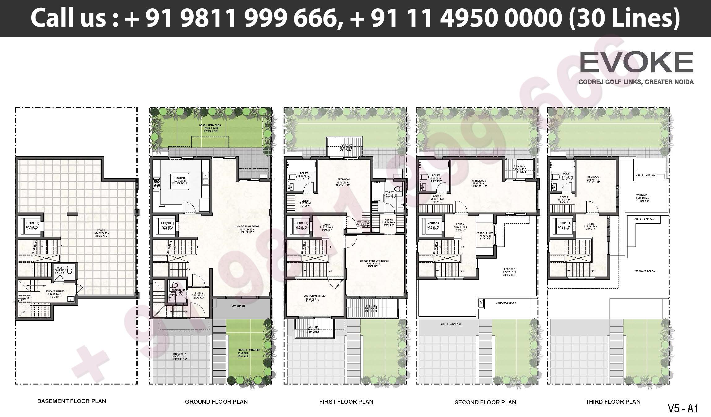 V5 - A1 Floor Plan