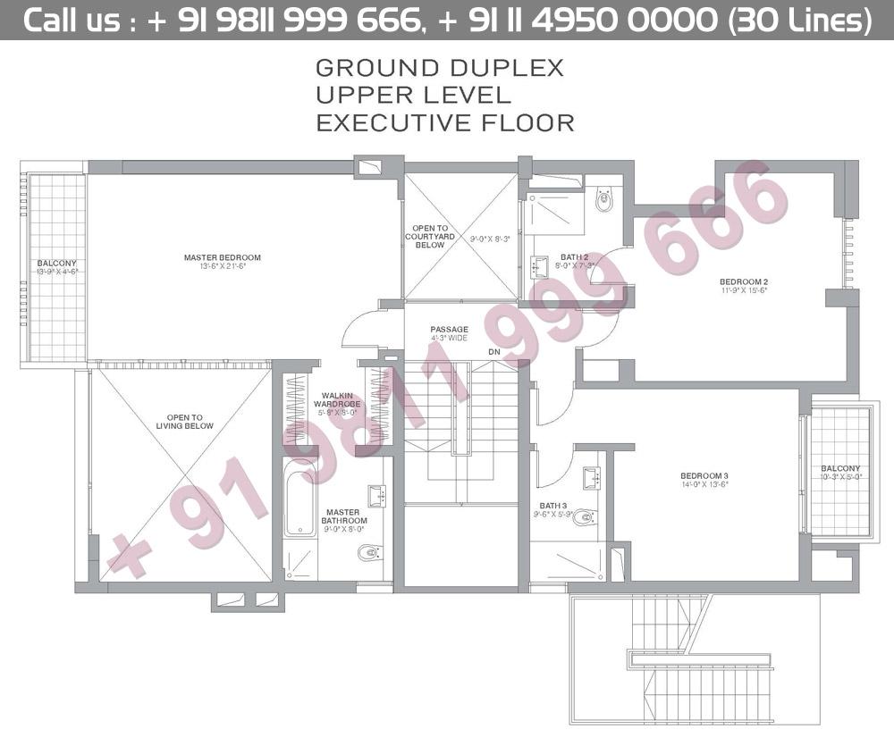 Ground Floor Duplex Upper Level