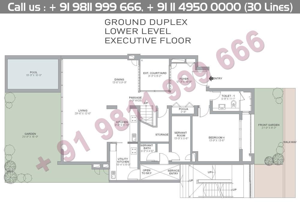 Ground Floor Duplex Lower Level