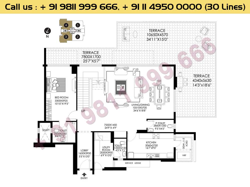 Apt No 3 4 Penthouse Lower Level