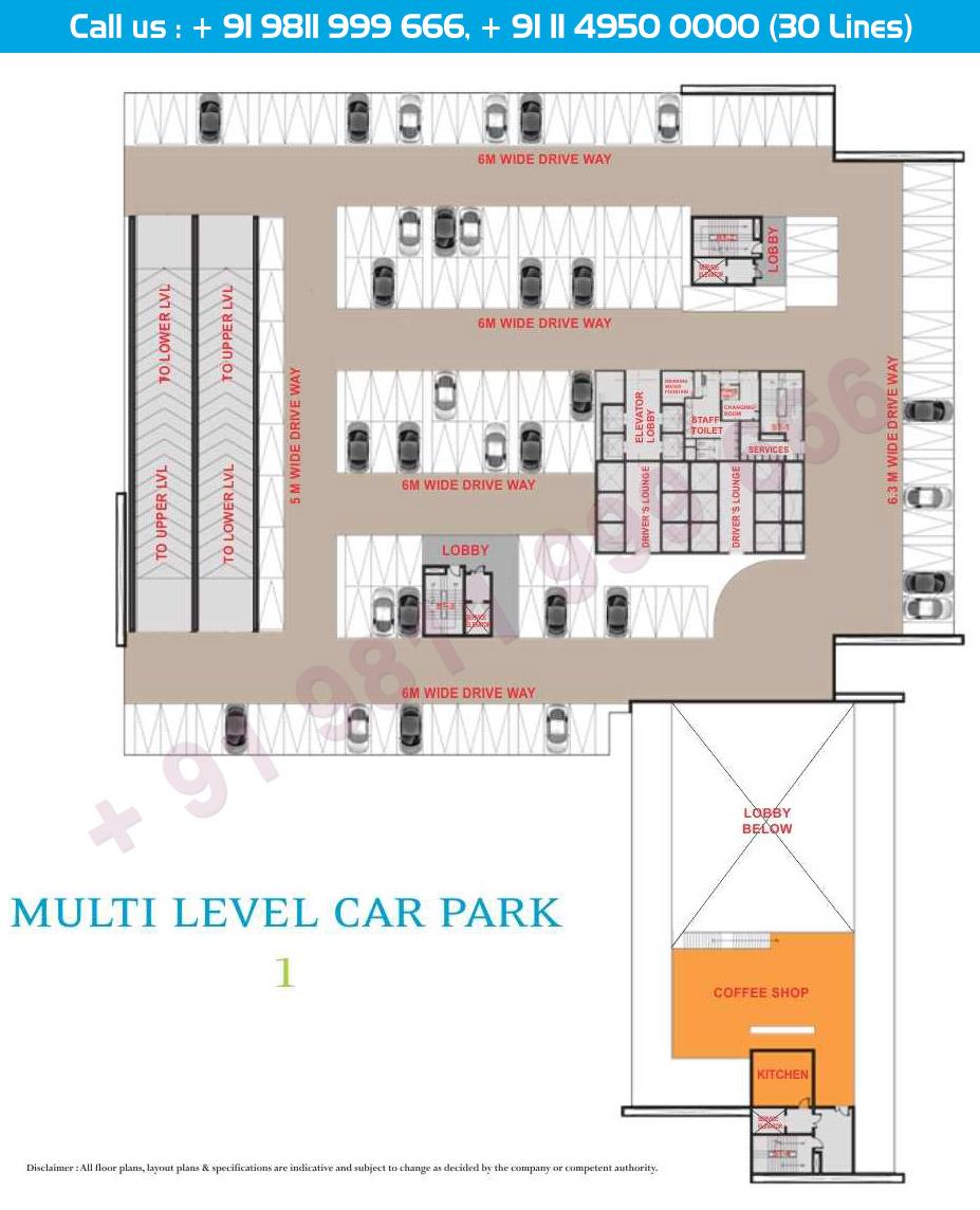 Multi Level Car Parking Level 1