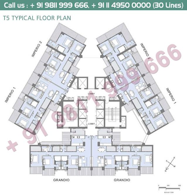 T5 Typical Floor Plan