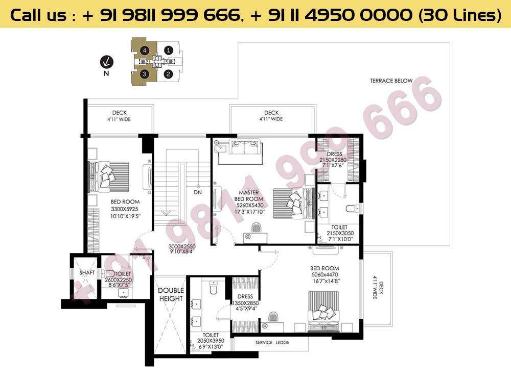 Apt No 3 4 Penthouse Upper Level