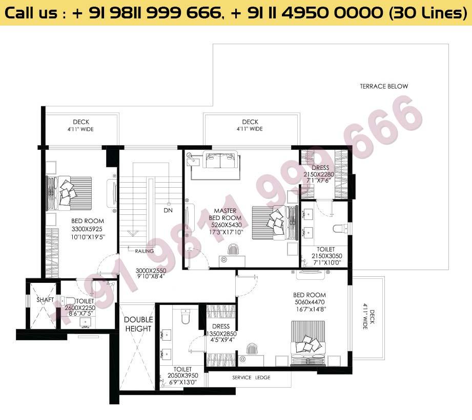 Apt No 1, 2, 3, 4 Penthouse Upper Level