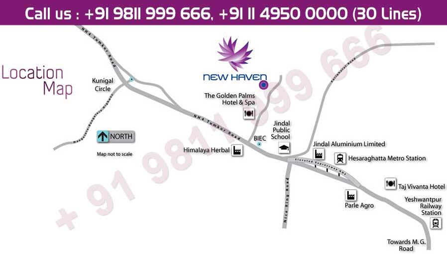 Tata New Haven Location Map