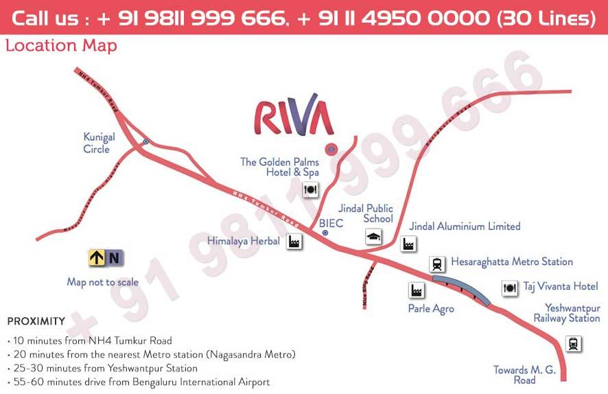 Tata Riva Location Map