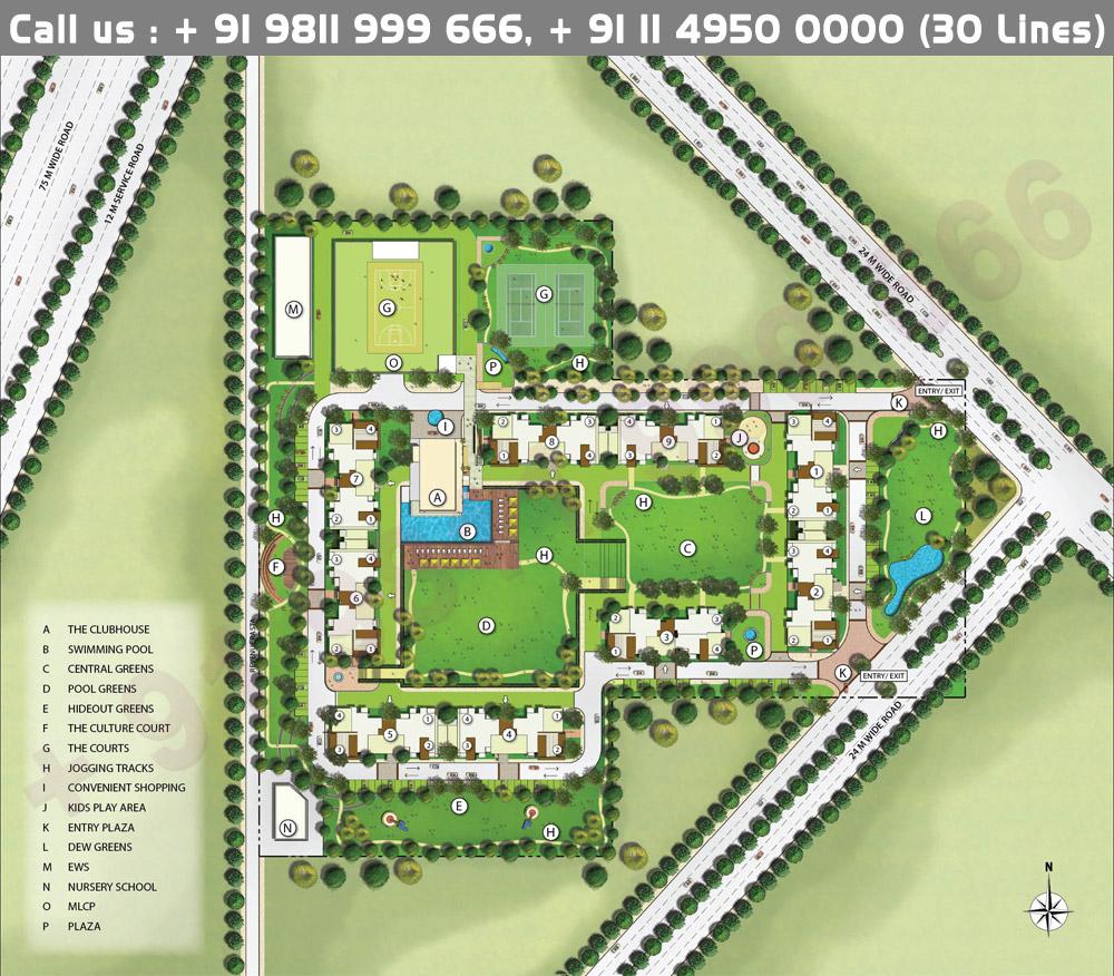 Emaar Imperial Gardens Gurgaon Master Plan