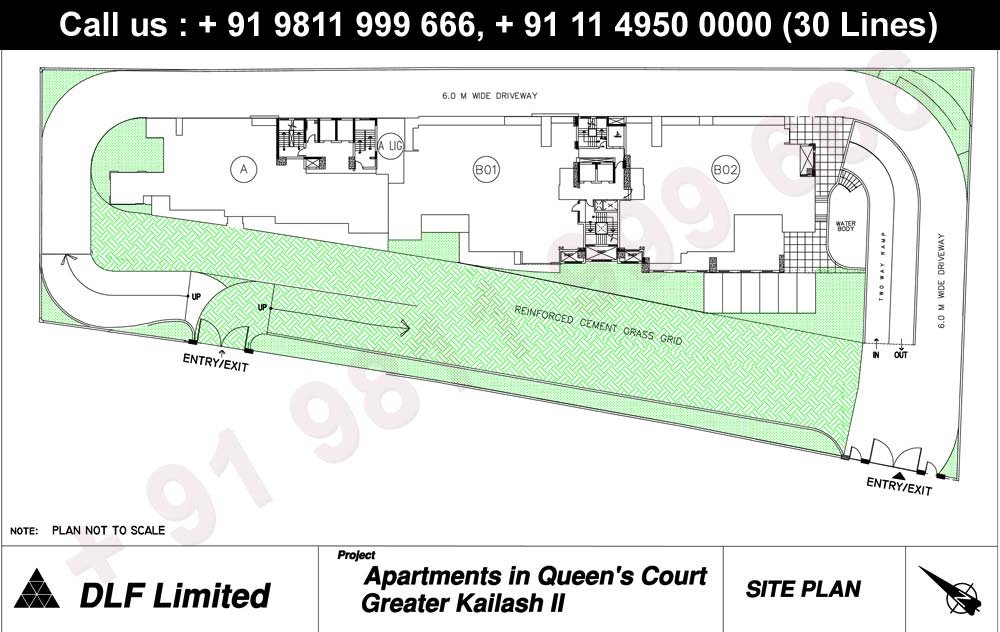 DLF Queens Court Master plan
