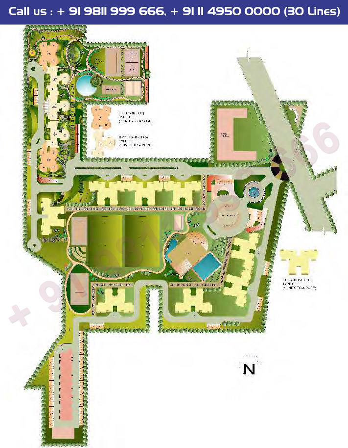 Master Plan - Sare Sports Parc Gurgaon