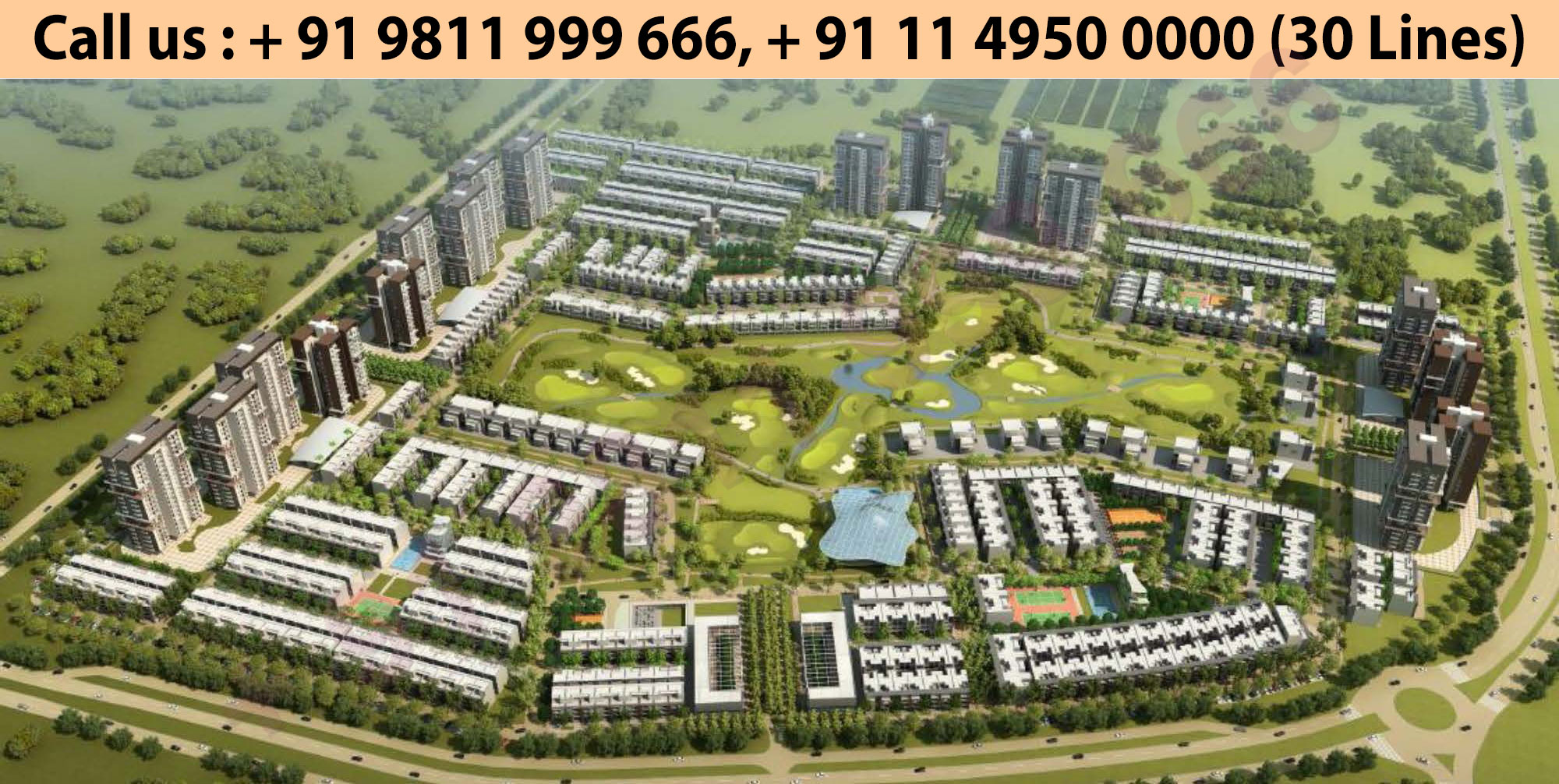 Master Plan - Godrej Golf Links Greater Noida