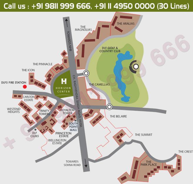DLF Two Horizon Center Master Plan