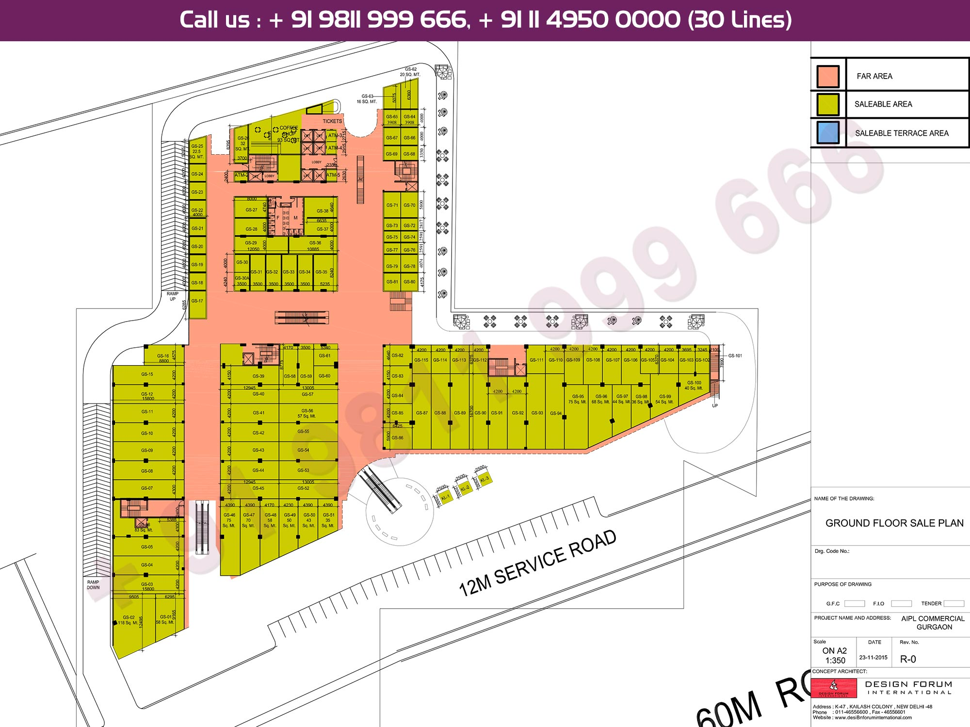 Master Plan - AIPL Joy Street Gurgaon