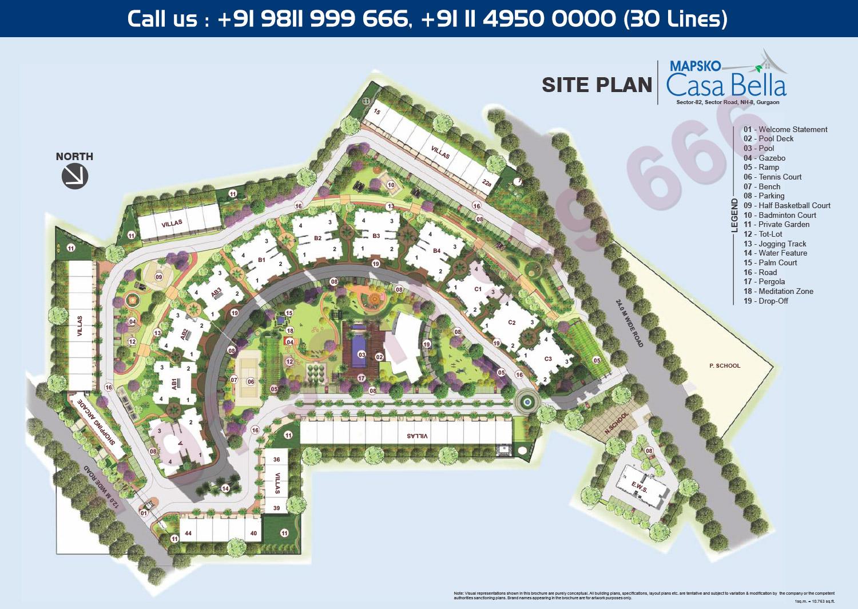 Mapsko Casa Bella Master Plan