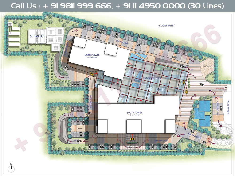 M3M Urbana Business Park Site Plan