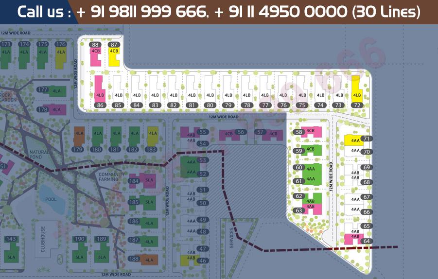 Tata Arabella Plots Site Plan