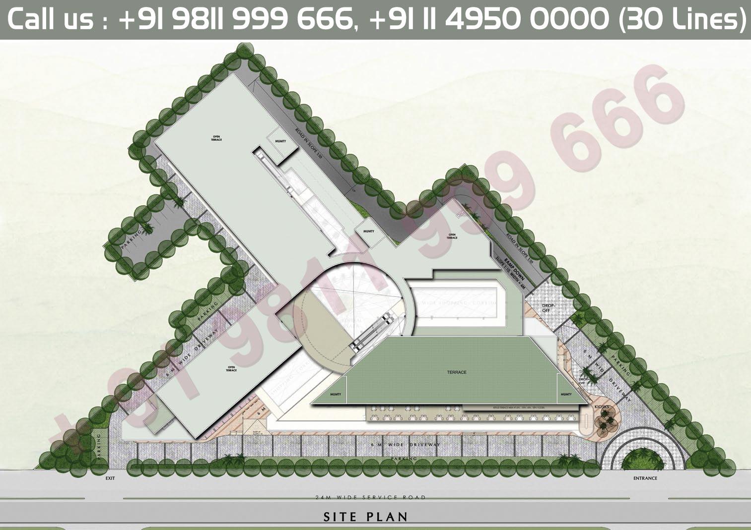 Site Plan - 83 Metro Street Gurgaon Dwarka Expressway