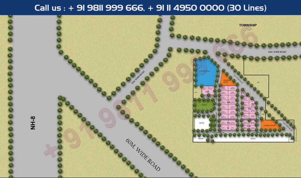 Raheja Ayana Site Plan