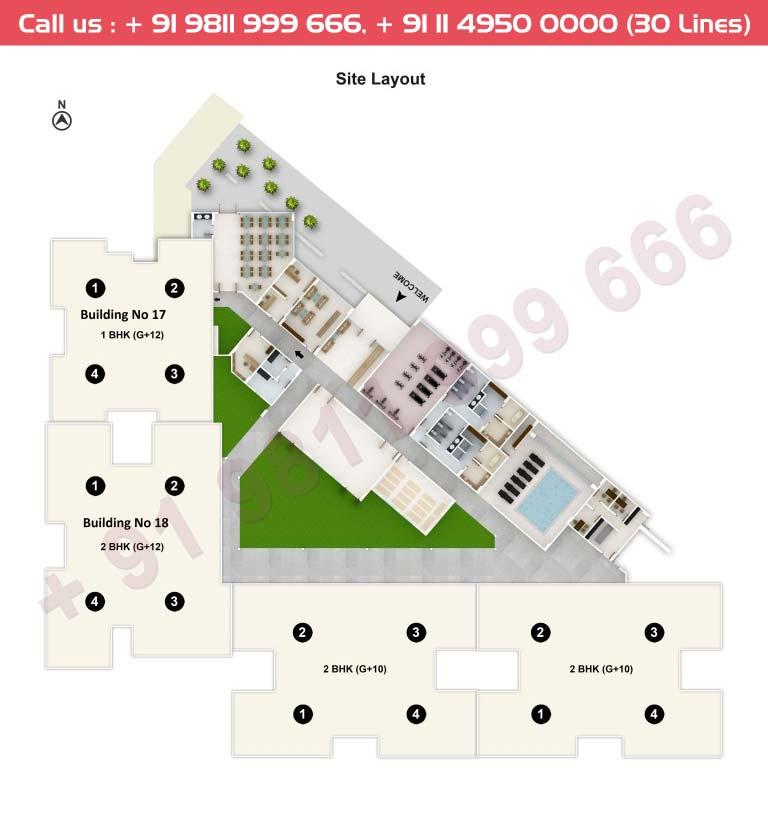Tata Riva Site Plan