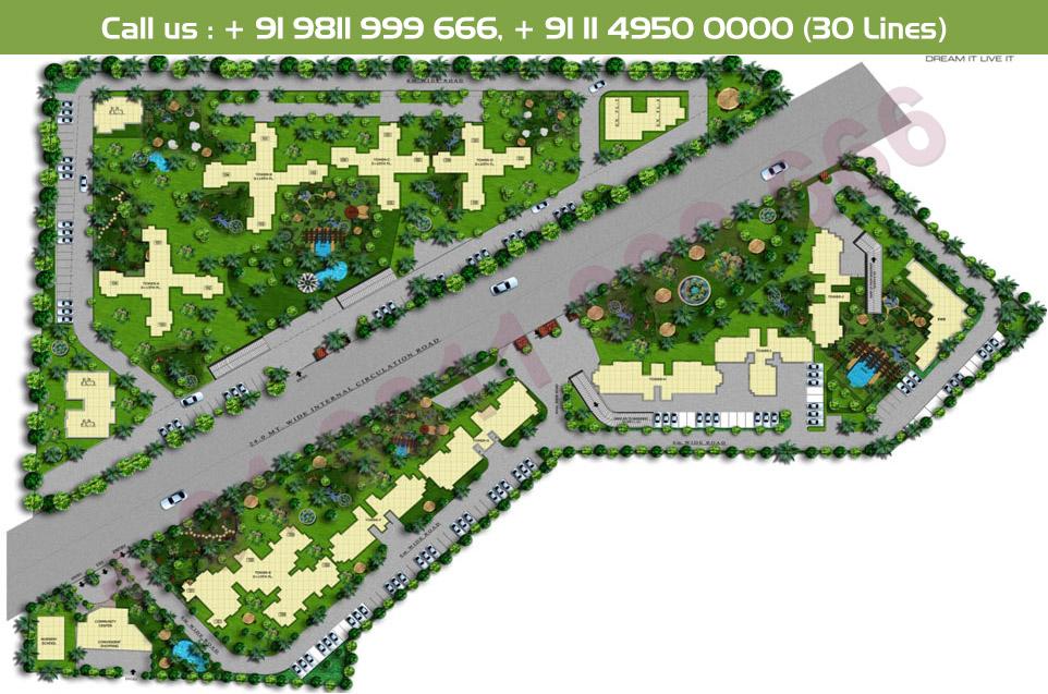 Sidhartha NCR Green Site Plan