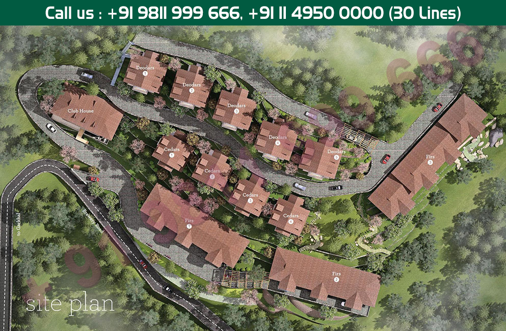 Silverglades Hill Homes Site Plan