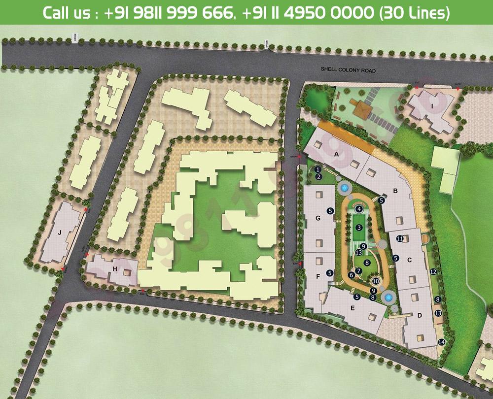 Godrej Central Phase 3 Site Plan